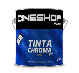 Tinta Chroma Key Azul